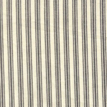 Ticking Stripe Black Cream