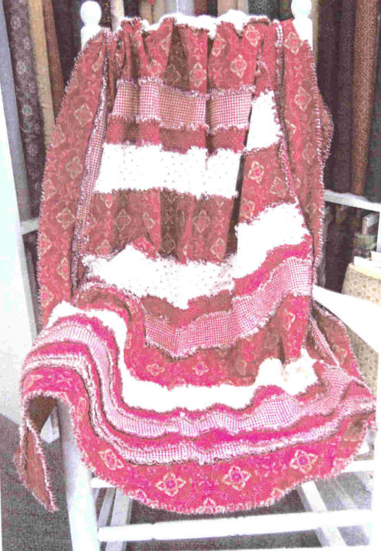 Strip Ease Rag Quilt Pattern