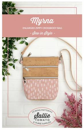 Myrna Enlarged Zippy Cross-body Bag Pattern