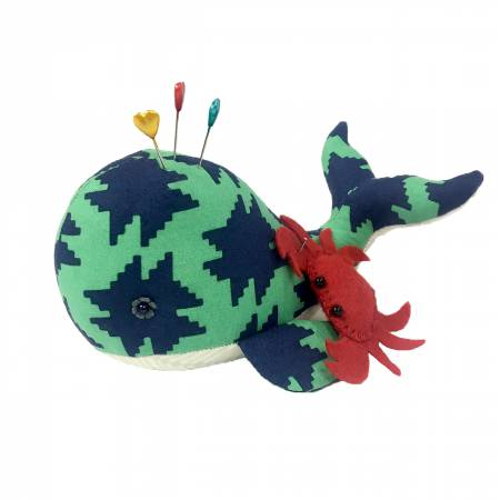 Seymour Spyhop Whale Pincushion Pattern