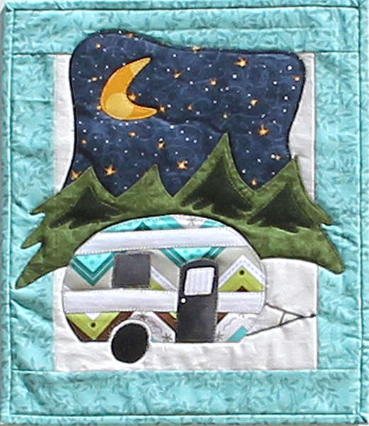 Little Camper Wall Hanging Pattern