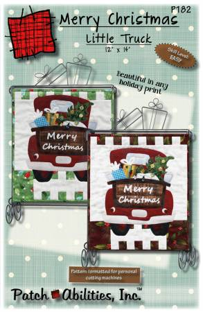Merry Christmas Little Truck Pattern