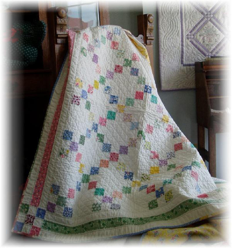 9-Patch Baby Quilt Pattern