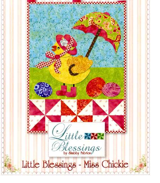 Little Blessings Wall Hanging Pattern - Miss Chickie