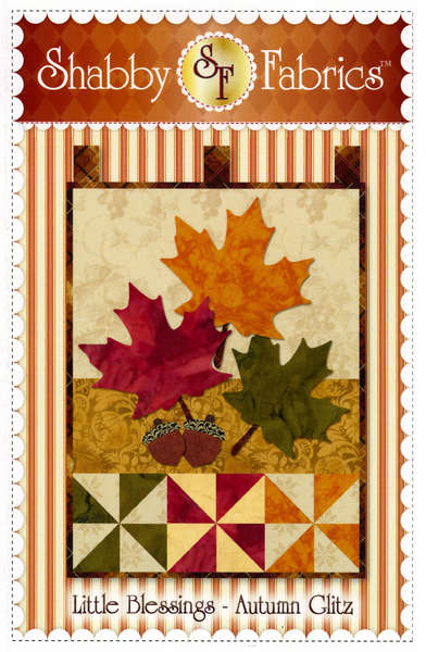 Little Blessings Wall Hanging Pattern - Autumn Glitz