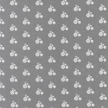Flannel Bicycle - Grey