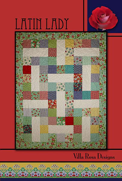 Latin Lady Quilt Card Pattern