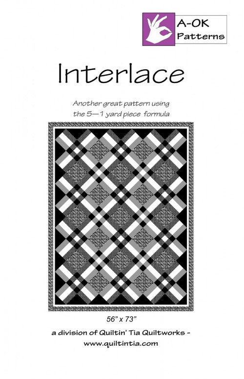 Interlace A OK 5 Yard Quilt Pattern