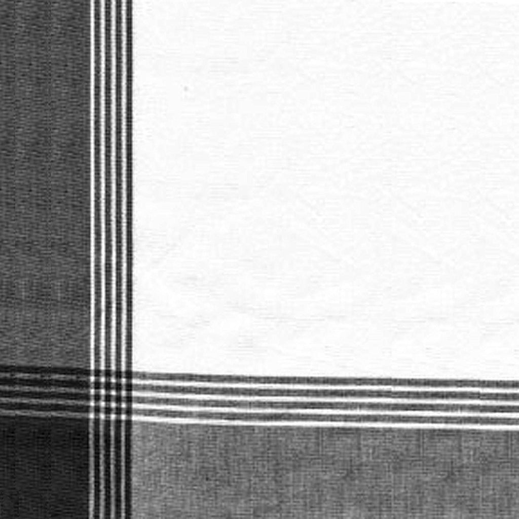 McLeod No Stripe Towel - Black & White