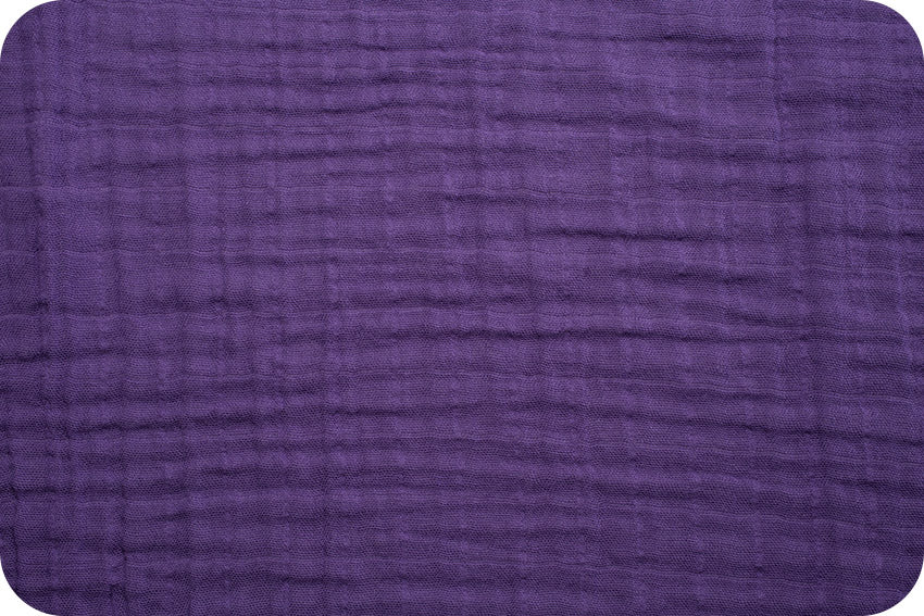 Embrace Double Gauze Solid - Amethyst
