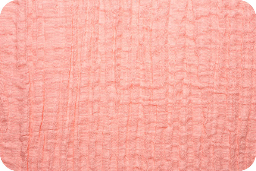 Embrace Double Gauze Solid - Coral