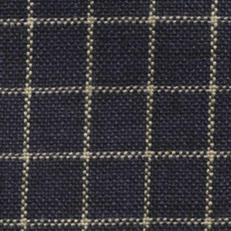 Homespun Small Window Pane - Navy / Teadye