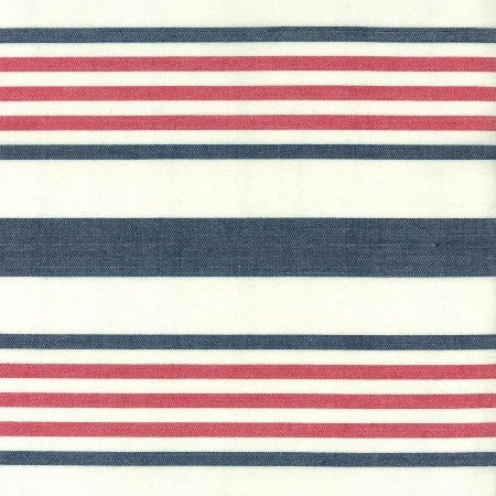"16"" Moda Toweling Picnic Point Tea - Red Blue White"
