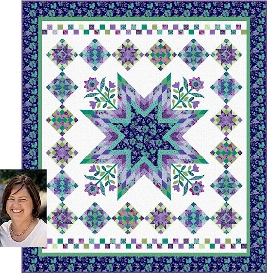 Harmony Block of the Month by Nancy Rink