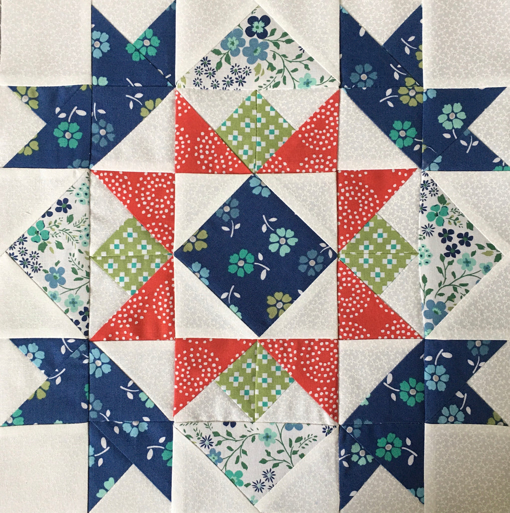 Ohio Amish Country Quilt Shop Hop Block, OACQSH