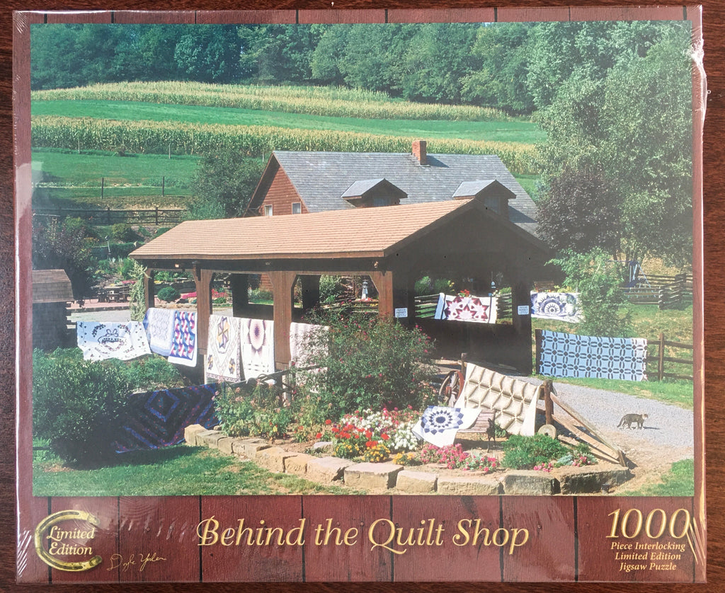 Behind The Quilt Shop Puzzle