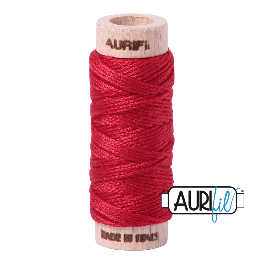 Aurifloss 6 Strand Cotton Floss - Red