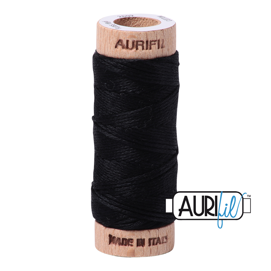 Aurifloss 6 Strand Cotton Floss - Black
