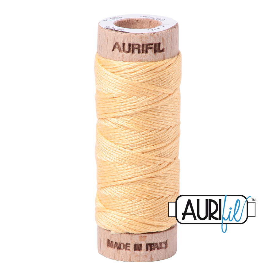 Aurifloss 6 Strand Cotton Floss - Medium Butter