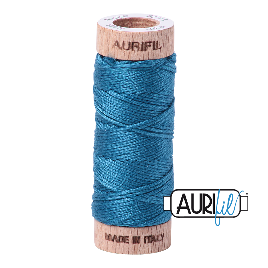 Aurifloss 6 Strand Cotton Floss - Medium Teal