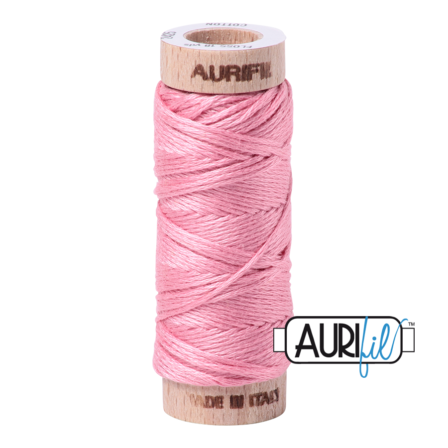Aurifloss 6 Strand Cotton Floss - Bright Pink