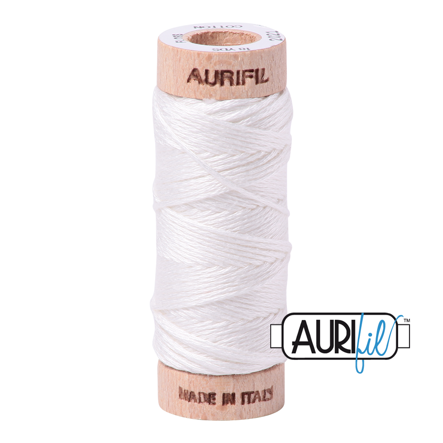 Aurifloss 6 Strand Cotton Floss - Natural White