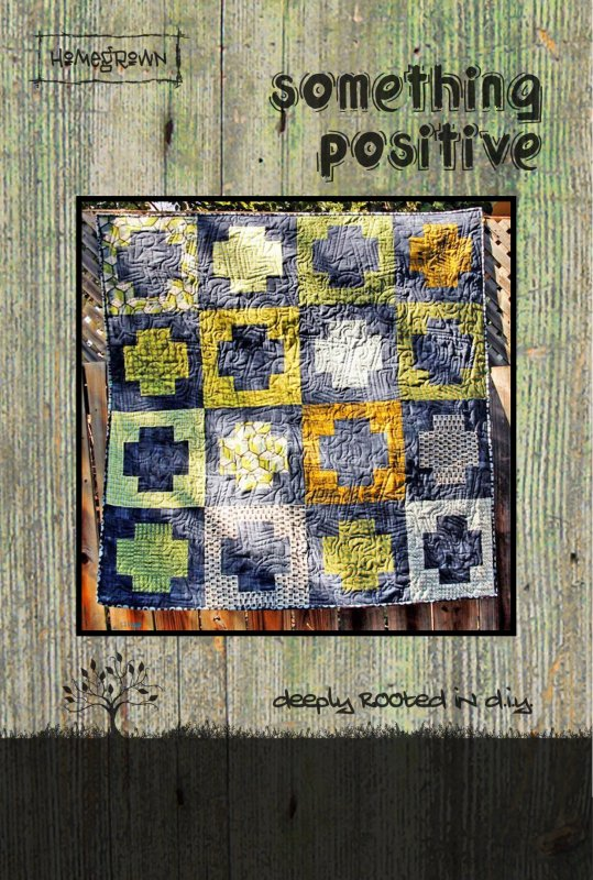 Something Positive Quilt Card Pattern