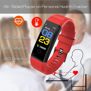 Measure Blood Pressure & Heart Rate Best Smart Watch/Wristband