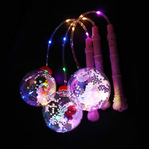 Glowing Toys Hand-held Portable Wave Ball