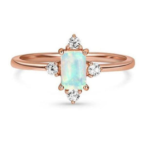 1 Ct Moonstone Natural Diamond Wedding Engagement Ring 14 k Solid Gold June Birthstone Gemstone Ring HK Jewellers