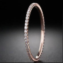 Load image into Gallery viewer, 1.5 mm Half Eternity Diamond Band Full Eternity Band HK Jewellers