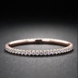 1.5 mm Half Eternity Diamond Band Full Eternity Band HK Jewellers