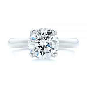 2 CT Solitaire Moissanite Wedding Ring Moissanite Engagement Ring HK Jewellers