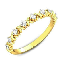 Load image into Gallery viewer, 2 mm Half Eternity Band Half Eternity Band HK Jewellers