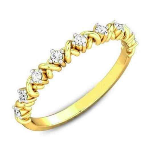 2 mm Half Eternity Band Half Eternity Band HK Jewellers