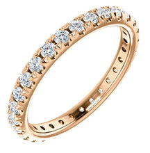 Load image into Gallery viewer, 2.5mm Gold Diamond Eternity Band Full Eternity Band HK Jewellers