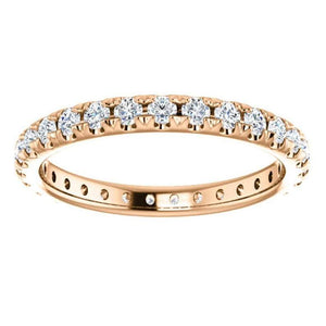 2.5mm Gold Diamond Eternity Band Full Eternity Band HK Jewellers