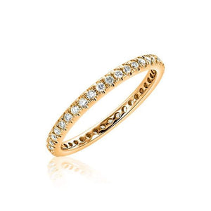 2mm Diamond Eternity Band Full Eternity Band HK Jewellers