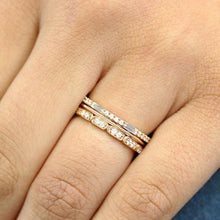 Load image into Gallery viewer, 2mm Moissanite Diamond Band Full Eternity Band HK Jewellers
