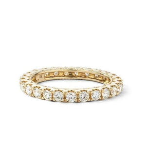2mm Moissanite Wedding Eternity Band Women Band HK Jewellers