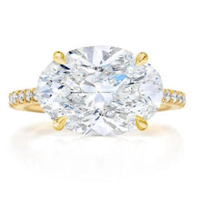 Load image into Gallery viewer, 3 Carat Moissanite Diamond Engagement Ring Wedding Ring HK Jewellers