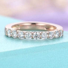 Load image into Gallery viewer, 3mm Diamond Vintage wedding band Wedding Band HK Jewellers