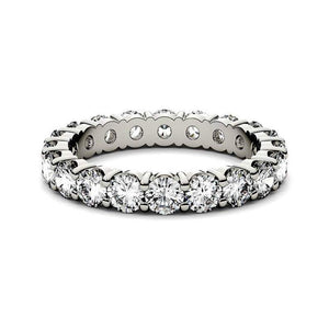 3mm Simulated Diamond Wedding Band Women Band HK Jewellers