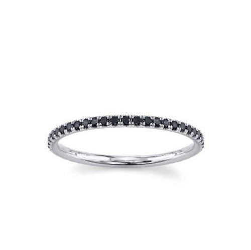 Black Diamond Eternity Band Full Eternity Band HK Jewellers