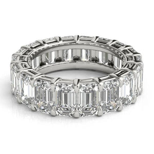 Emerald Cut Diamond Eternity Band Full Eternity Band HK Jewellers