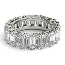 Load image into Gallery viewer, Emerald Cut Diamond Eternity Band Full Eternity Band HK Jewellers