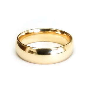 Men Wedding Band 14K Yellow Gold Engagement Band Ring 2MM 3MM 4MM Men Wedding Band HK Jewellers