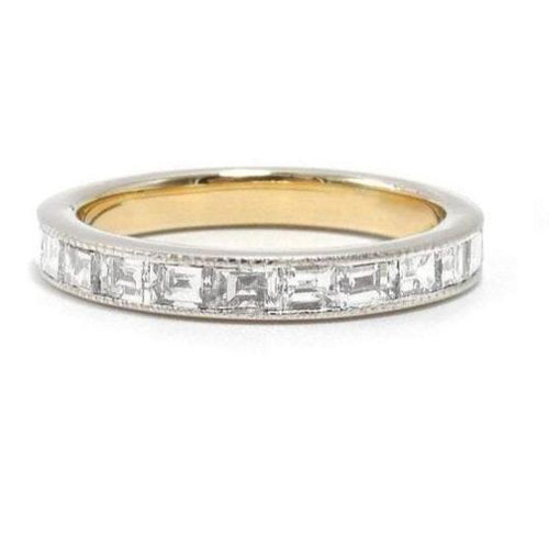 Moissanite Channel Setting Eternity Wedding Band Women Wedding Band HK Jewellers