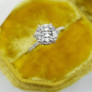 Round Brilliant Diamond Engagement Ring Diamond Ring HK Jewellers