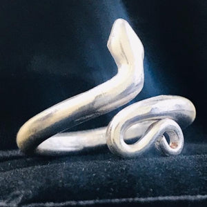 Snake Ring, Dragon Ring, Consecrated Ring for Men and Women Snake Ring HK Jewellers